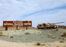 Fort Irwin Bounday Survey Barstow, California